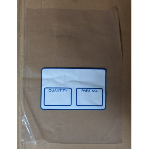 "Parts Bags 6"" X 9"" X 2.5 MIL Printed 2 Colours (1000/CS)"